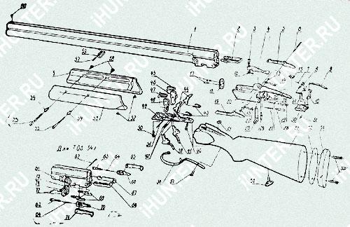 ружье мц 106-17, ружье иж